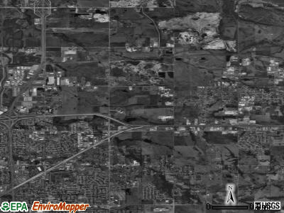 Zip code 74116 satellite photo by USGS