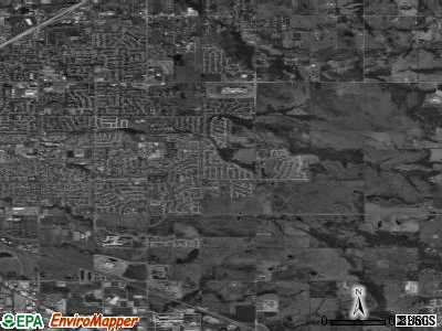 Zip code 74134 satellite photo by USGS