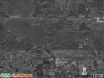 Zip code 74756 satellite photo by USGS