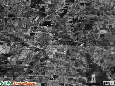 Zip code 75069 satellite photo by USGS