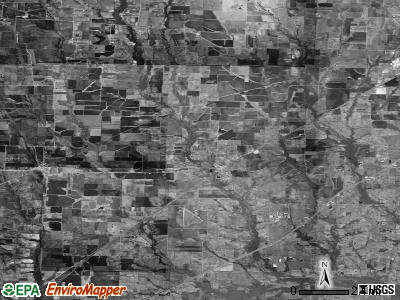 Zip code 75135 satellite photo by USGS
