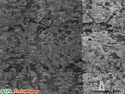 Zip code 75471 satellite photo by USGS
