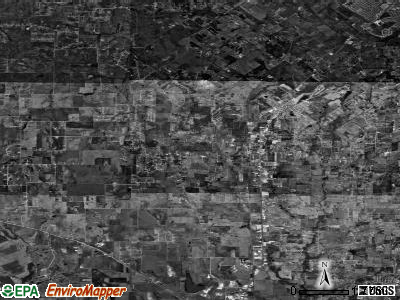 Zip code 76058 satellite photo by USGS