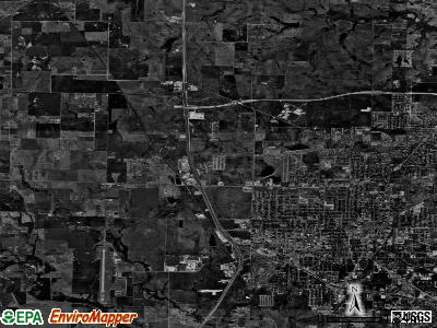 Zip code 76207 satellite photo by USGS