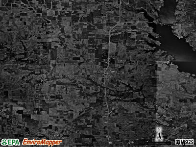 Zip code 76266 satellite photo by USGS