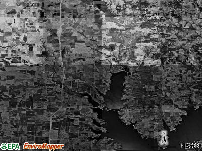 Zip code 76272 satellite photo by USGS