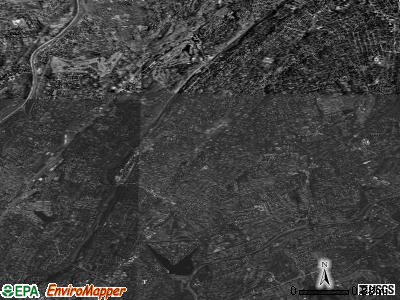 Zip code 10583 satellite photo by USGS