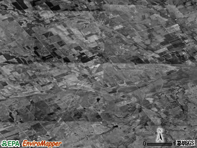 Zip code 76660 satellite photo by USGS