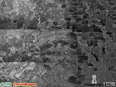 Zip code 76864 satellite photo by USGS