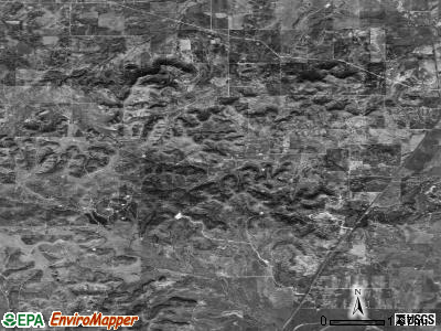 Zip code 76953 satellite photo by USGS