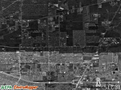 zip code 77045 satellite photo