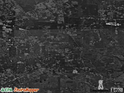 Zip code 77306 satellite photo by USGS