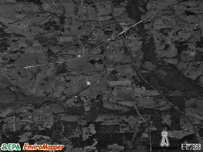 Zip code 77333 satellite photo by USGS