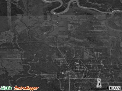 Zip code 77481 satellite photo by USGS
