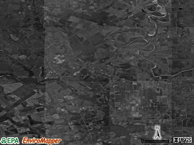Zip code 77485 satellite photo by USGS