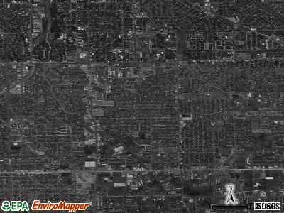 Zip code 77502 satellite photo by USGS