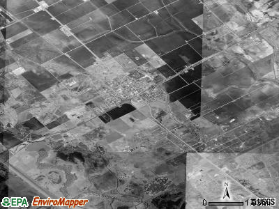 Zip code 77951 satellite photo by USGS