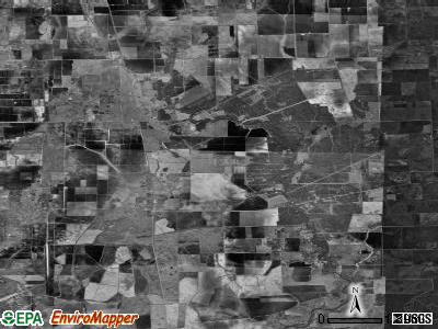 Zip code 77970 satellite photo by USGS