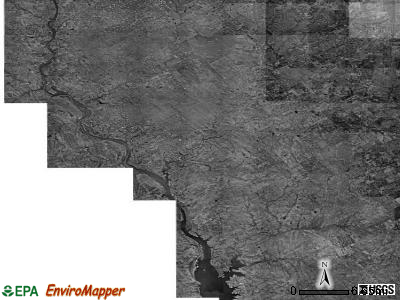 Zip code 78076 satellite photo by USGS