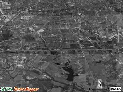 Zip code 78221 satellite photo by USGS