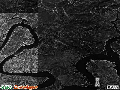 Zip code 78645 satellite photo by USGS