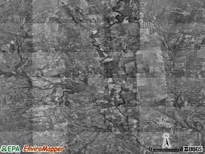 Zip code 78839 satellite photo by USGS
