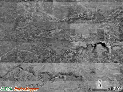 Zip code 79330 satellite photo by USGS