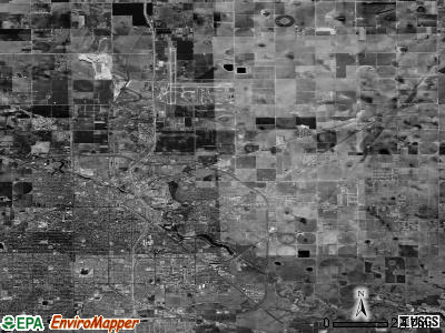 Zip code 79403 satellite photo by USGS