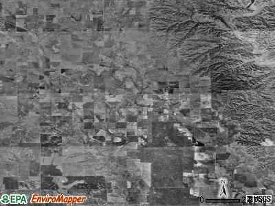 Zip code 79518 satellite photo by USGS