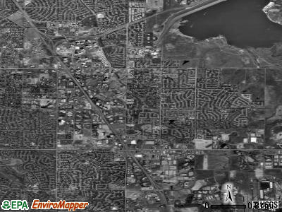 Zip code 80111 satellite photo by USGS