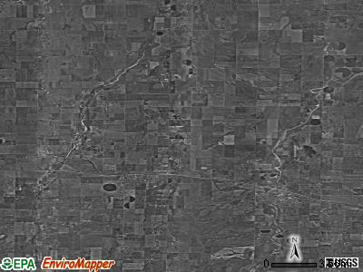 Zip code 80136 satellite photo by USGS
