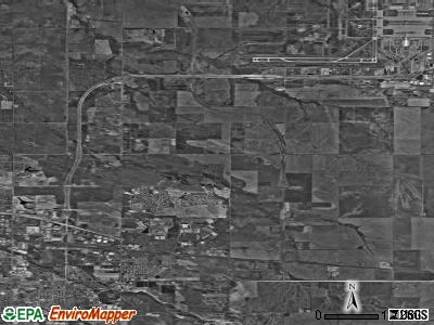 Zip code 80249 satellite photo by USGS