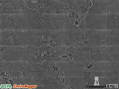 Zip code 80928 satellite photo by USGS