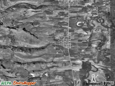 Zip code 83223 satellite photo by USGS