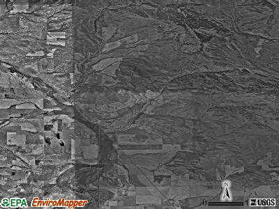 Zip code 83281 satellite photo by USGS