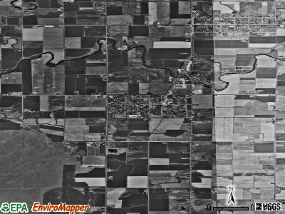 Zip code 83431 satellite photo by USGS