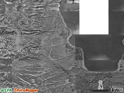 Zip code 84028 satellite photo by USGS