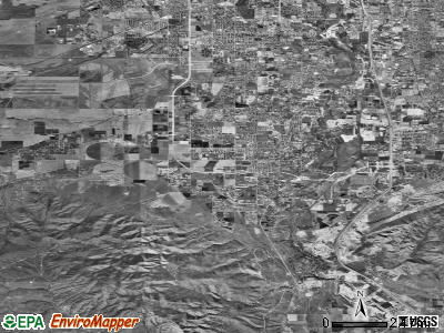 Zip code 84065 satellite photo by USGS