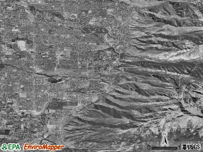 Zip code 84092 satellite photo by USGS