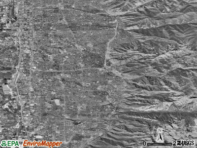 Zip code 84121 satellite photo by USGS