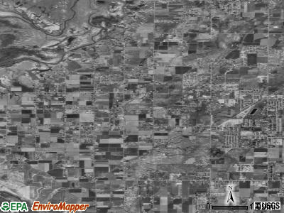 Zip code 84315 satellite photo by USGS
