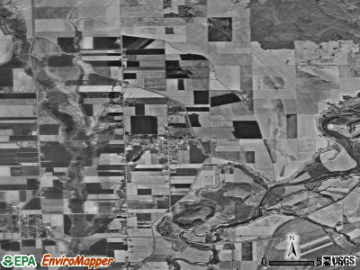 Zip code 84321 satellite photo by USGS