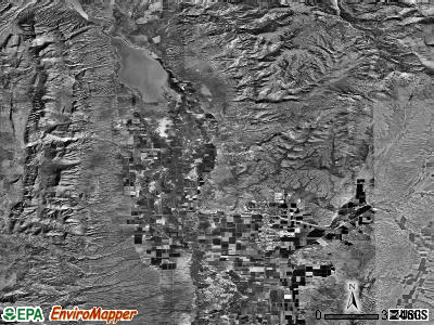 Zip code 84634 satellite photo by USGS