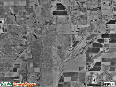 Zip code 85307 satellite photo by USGS