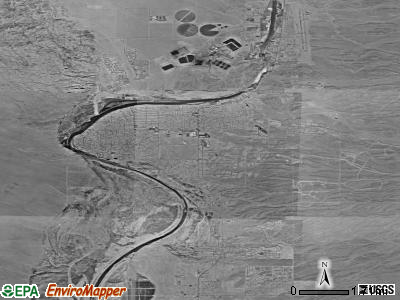 Zip code 86442 satellite photo by USGS