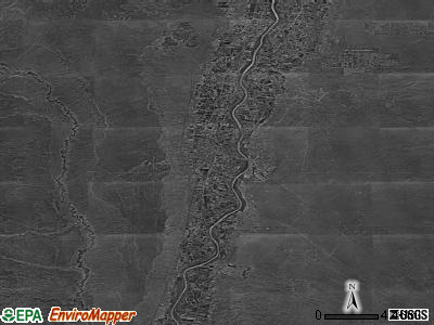 Zip code 87011 satellite photo by USGS