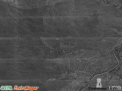 Zip code 87124 satellite photo by USGS