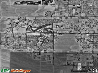 Zip code 89117 satellite photo by USGS