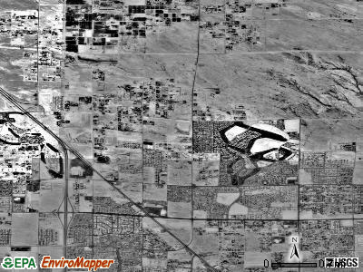 Zip code 89130 satellite photo by USGS