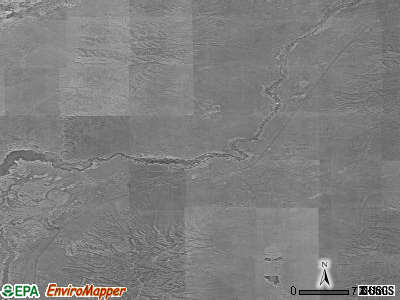 Zip code 89419 satellite photo by USGS